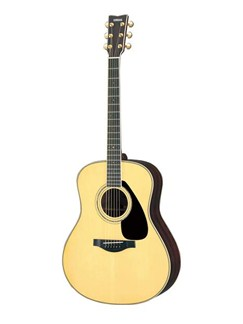 Yamaha: LL6 Acoustic Guitar - Natural Instruments | Acoustic Guitar
