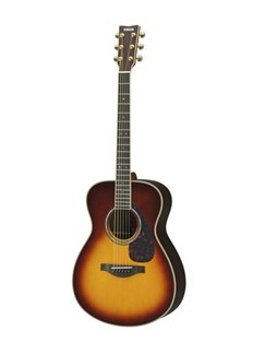 Yamaha: LL16 A.R.E. Acoustic Guitar - Original Jumbo Body (Brown Sunburst) Instruments | Electro-Acoustic Guitar