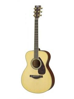 Yamaha: LS6MARE Acoustic Guitar - Solid Mahogany In Natural Finish Instruments | Acoustic Guitar