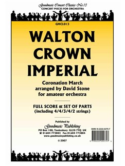 William Walton: Crown Imperial - Score/Parts Books | Orchestra