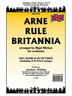 Thomas Arne: Rule Britannia - Score/Parts Books | Orchestra