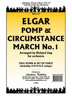 Edward Elgar: Pomp And Circumstance March No.1 - Score/Parts Books | Orchestra