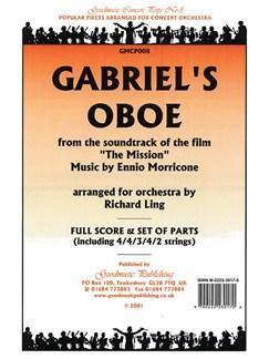 Ennio Morricone: Gabriel's Oboe (Orchestra Set) Books | Orchestra