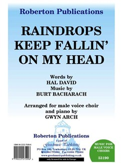 Burt Bacharach/Hal David: Raindrops Keep Fallin' On My Head - TTBB/Piano Books | TTBB, Piano Accompaniment