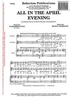 Hugh S. Roberton: All In The April Evening (2-Part) Bog | 2-stemmigt kor, Klaverakkompagnement