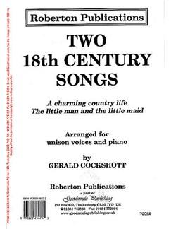 Gerald Cockshott: Two 18th Century Songs (Unison) Books | Unison Voice, Piano Accompaniment