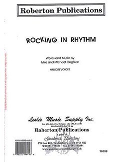 Mira And Michael Coghlan: Rocking In Rhythm Books | Unison Voice, Piano Accompaniment