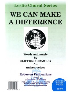 We Can Make A Difference (Unison) Books | Unison Voice