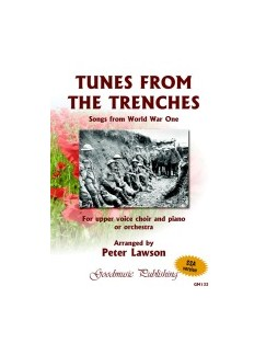 Peter Lawson: Tunes From The Trenches - Songs From World War One (SSA) Books | SSA, Piano Accompaniment