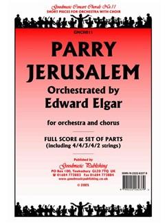 Hubert Parry: Jerusalem (Elgar) - Score/Parts Books | Orchestra