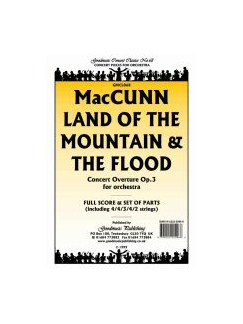 Hamish MacCunn: Land Of The Mountain And The Flood (Cymbals) Books | Percussion