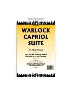Peter Warlock: Capriol Suite - Full Orchestra (Score) Books   Orchestra