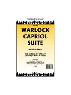 Peter Warlock: Capriol Suite - Full Orchestra (Clarinet Parts) Books | Clarinet