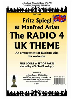 Fritz Spiegl/Manfred Arlan: The Radio 4 UK Theme 'National Airs' - Score/Parts Books | Orchestra
