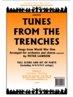 Peter Lawson: Tunes From The Trenches - Songs From World War One (Score/Parts) Books | Orchestra