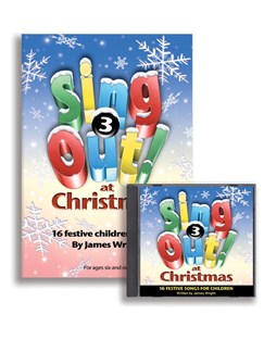 James Wright: Sing Out At Christmas - Volume 3 (Book/CD) Books and CDs | Voice, Piano Accompaniment