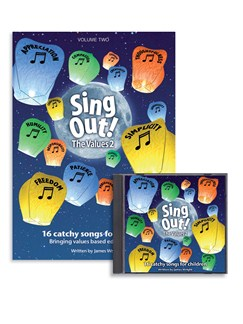 Sing Out The Values: Volume 2 Books and CDs | Voice