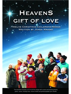 James Wright: Heaven's Gift Of Love Books and CDs | Voice, Piano Accompaniment