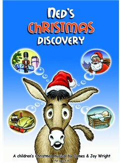 James Wright: Ned's Christmas Discovery Books and CDs | Voice, Piano Accompaniment