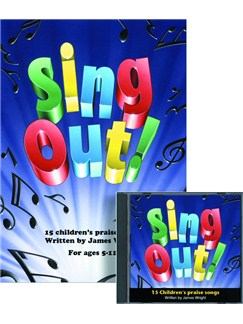 James Wright: Sing Out! 1 Books and CDs | Piano, Vocal & Guitar