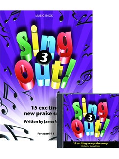 James Wright: Sing Out! 3 Books and CDs | Piano, Vocal & Guitar