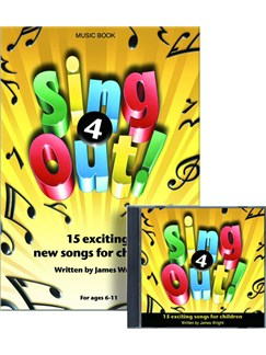 James Wright: Sing Out! 4 Books and CDs | Piano, Vocal & Guitar