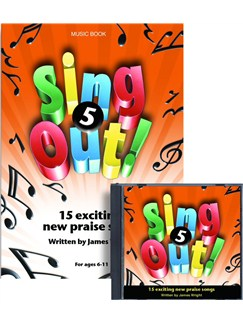 James Wright: Sing Out! 5 Books and CDs | Piano, Vocal & Guitar
