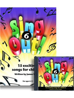 James Wright: Sing Out! 6 Books and CDs | Piano, Vocal & Guitar