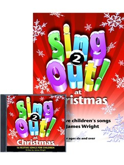 James Wright: Sing Out At Christmas 2 Books and CDs | Piano, Vocal & Guitar
