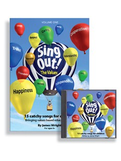 Sing Out The Values! - Volume 1 Books | Voice