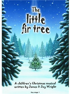 James Wright/Joy Wright: The Little Fir Tree Books and CDs | Voice, Piano Accompaniment