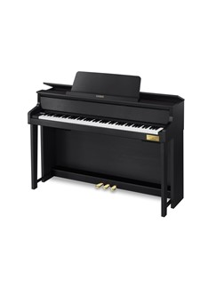 Casio: Celviano GP300 Grand Hybrid Piano In Association With C. Bechstein - Black Instruments | Digital Piano