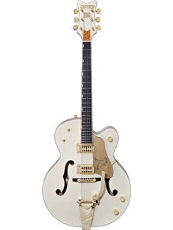 Gretsch: G6136T-LTV White falcon™ with Bigsby® - TV Jones™ Pickups (Vintage White Lacquer) Instruments | Electric Guitar