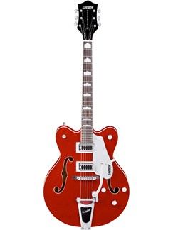 Gretsch: G5422TDC Electromatic Hollow Body Guitar (Transparent Red) Instruments | Semi-Acoustic Guitar