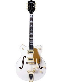 Gretsch: G5422TDCG Electromatic Hollow Body Guitar (Snow Crest White) Instruments | Semi-Acoustic Guitar