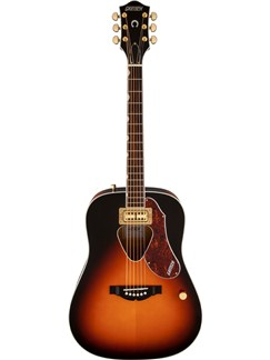 Gretsch G5031FT Rancher Dreadnought: Electro Acoustic Guitar - Sunburst Instruments | Guitar