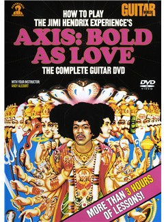 Guitar World: Learn To Play The Jimi Hendrix Experience's Axis: Bold As Love - The Complete Guitar DVD DVDs / Videos   Guitar