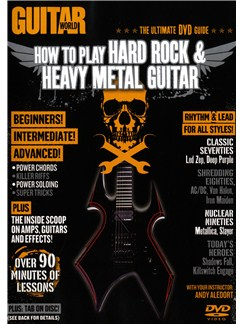 Guitar World: How To Play Hard Rock & Heavy Metal Guitar DVDs / Videos | Guitar
