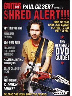 Guitar World: Paul Gilbert Presents Shred Alert! DVDs / Videos | Guitar