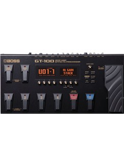 Boss: GT-100 Amp Effects Processor  | Electric Guitar