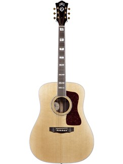 Guild: D-55 - Rosewood Dreadnought (Natural) Instruments | Acoustic Guitar