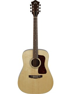 Guild: D-40 Standard - Mahogany Dreadnought (Natural) Instruments | Acoustic Guitar
