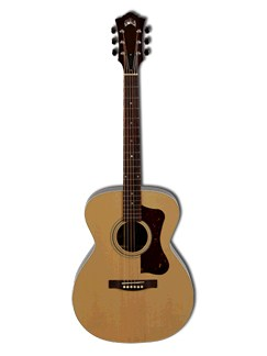 Guild: F-30R Standard - Rosewood Orchestra (Natural) Instruments | Acoustic Guitar