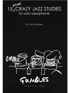 Chris Gumbley: 15 More Crazy Jazz Studies Books | Saxophone