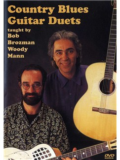 Bob Brozman And Woody Mann: Country Blues Guitar Duets (DVD) DVDs / Videos | Guitar (Duet)