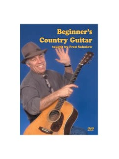 Fred Sokolow: Beginner's Country Guitar DVDs / Videos | Guitar