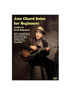 Jazz Chord Solos For Beginners DVDs / Videos | Guitar