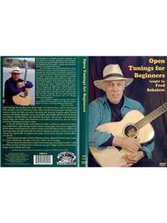 Fred Sokolow: Open Tunings For Beginners (DVD) DVDs / Videos | Guitar