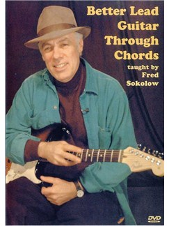 Fred Sokolow: Better Lead Guitar Through Chords (DVD) DVDs / Videos | Guitar