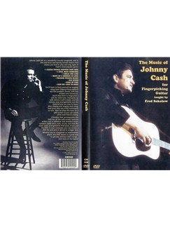 Fred Sokolow: The Music Of Johnny Cash For Fingerpicking Guitar (DVD) DVDs / Videos | Guitar